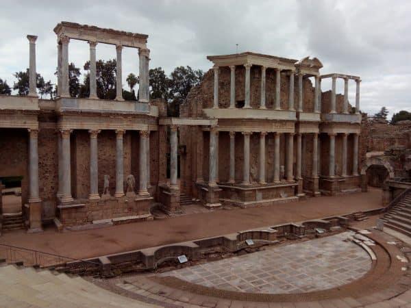 Teatro Romano de Mérida lugar que ver - Ilutravel.com
