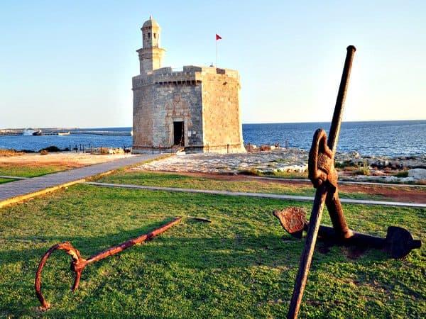 Castillo de San Nicolás de Ciudadela de Menorca - Sitios de interés que ver en Menorca - Ilutravel.com