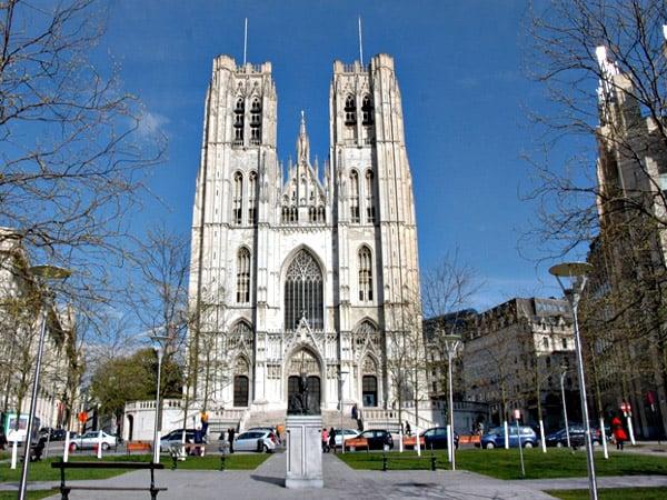 Catedral de Bruselas - Turismo en 2 días en Bruselas - Ilutravel.com