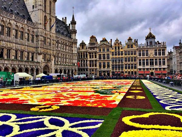 Grand Place de Bruselas - Que ver en Bruselas en dos días - Ilutravel.com