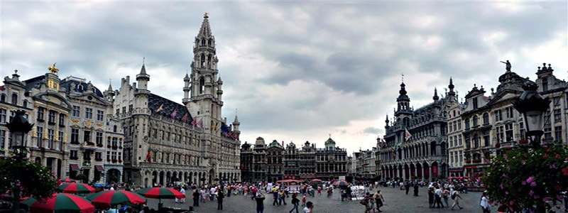 Grand Place de Bruselas superior