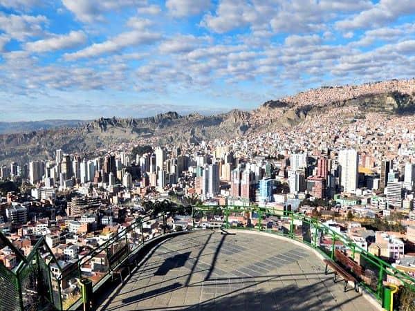Mirador de Killi Killi de La Paz - Ver La Paz haciendo turismo 2 días - Ilutravel.com