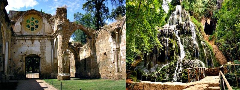 Monasterio de Piedra superior