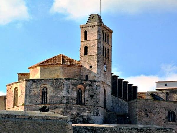 Murallas y Catedral de Ibiza miniatura