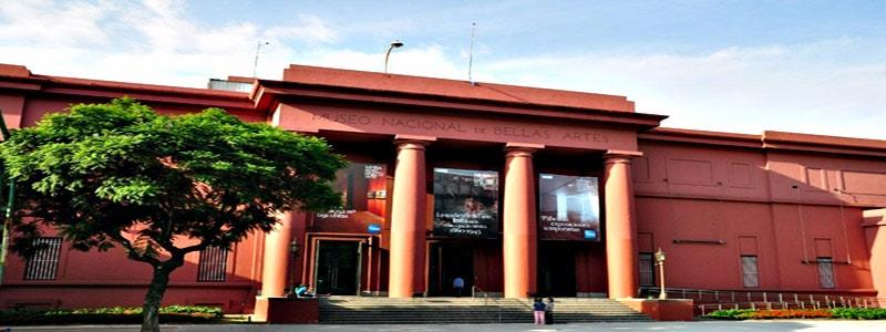 Museo Nacional de Bellas Artes superior