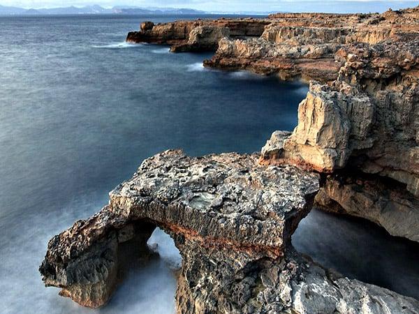 Piscinas naturales de Can Marroig Formentera - Visitar Formentera - Ilutravel.com