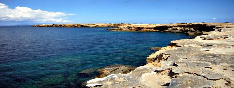 Piscinas naturales de Can Marroig Formentera