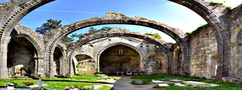 Ruinas de Santa Mariña de Dozo superior