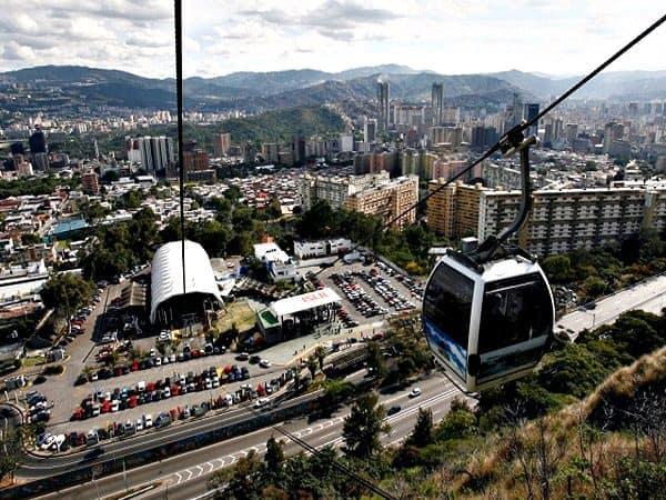 Teleférico de Caracas sitio que visitar