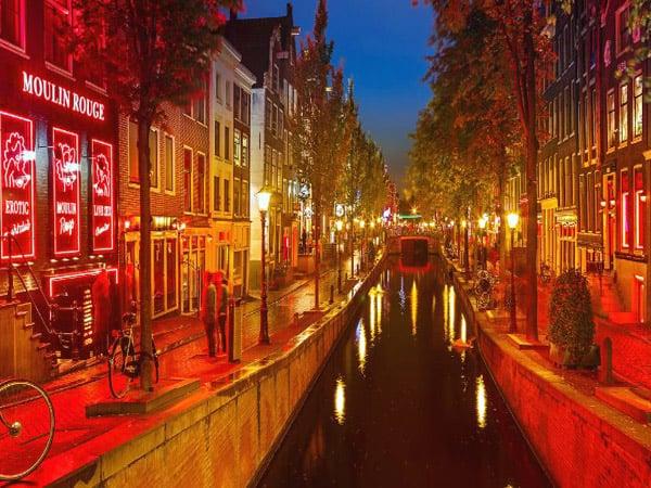 Barrio Rojo de Ámsterdam - Ver Amsterdam de turismo - Ilutravel.com