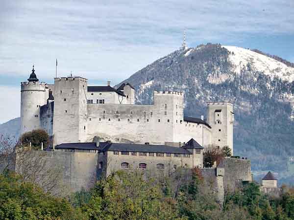 Castillo Hohensalzburg de Salzburgo - Turismo en Salzburgo un día - Ilutravel.com