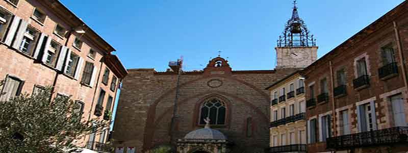 Catedral de Juan Bautista perpignan