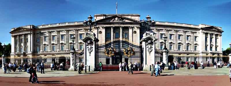 El Palacio de Buckingham de Londres