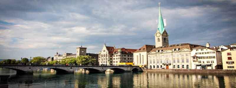 Iglesia Limmat, Fraumuenster Zurich