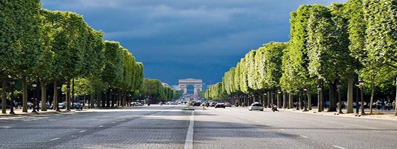Los Campos Elíseos en París