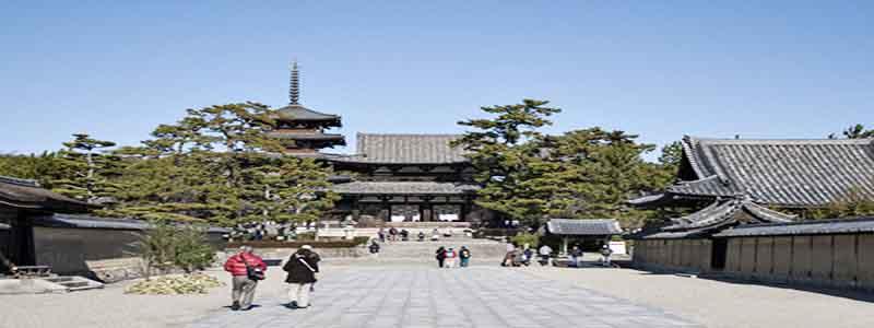 Templo Horyuji miniatura