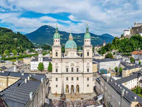 catedral de salzburgo - Sitios que ver en Salzburgo en un día - Ilutravel.com