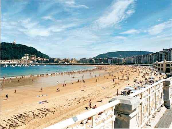 playa de la concha san sebastian - San Sebastián en dos días - Ilutravel.com