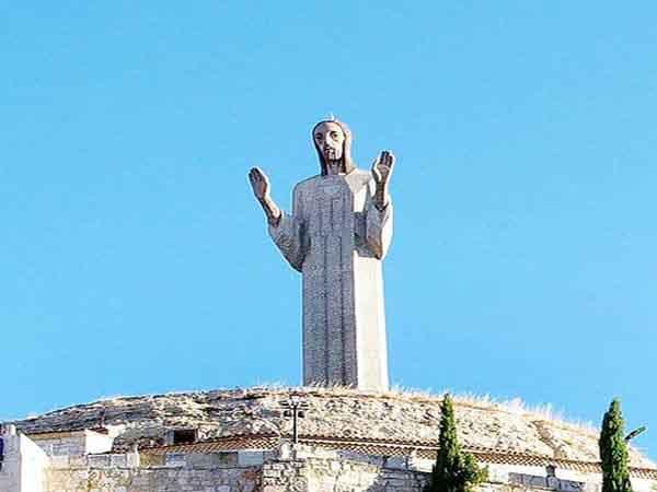 Cristo del Otero de Palencia lugar que ver