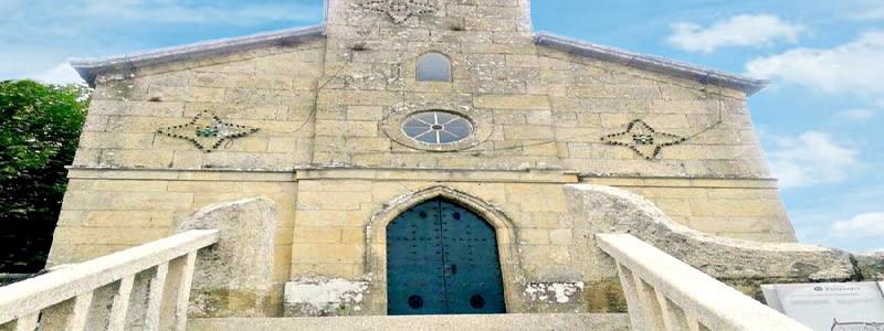 Iglesia de Santa María de Ponte Sampaio de Pontevedra