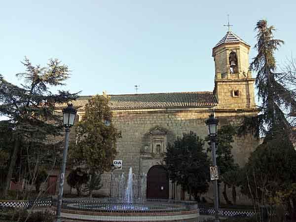 Iglesia de San Juan Bautista de Navas de San Juan