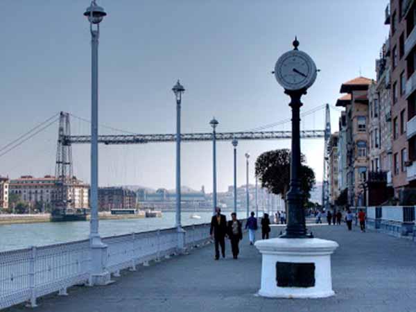 Mareómetro Muelle de Hierro de Portugalete
