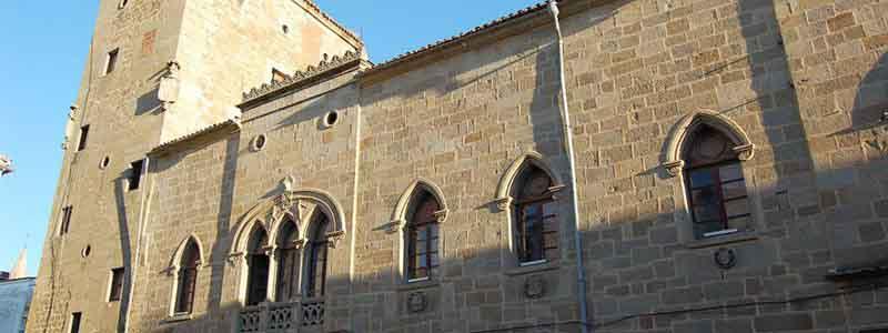 Palacio de Monroy o Casa de las Dos Torres de Plasencia