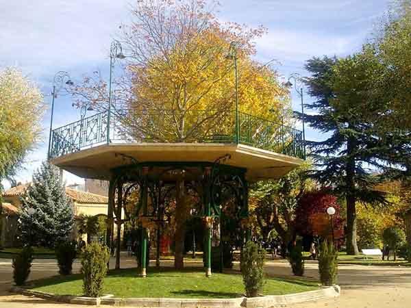 Parque Alameda de Cervantes La Dehesa de Soria, sitio que visitar en Soria - Ilutravel.com