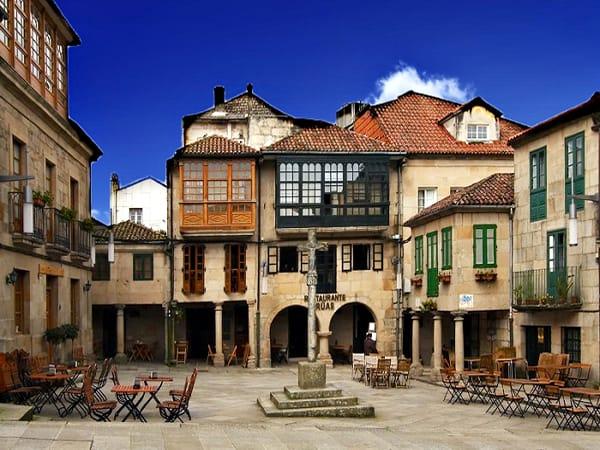 Plaza de Leña de Pontevedra - Ilutravel.com