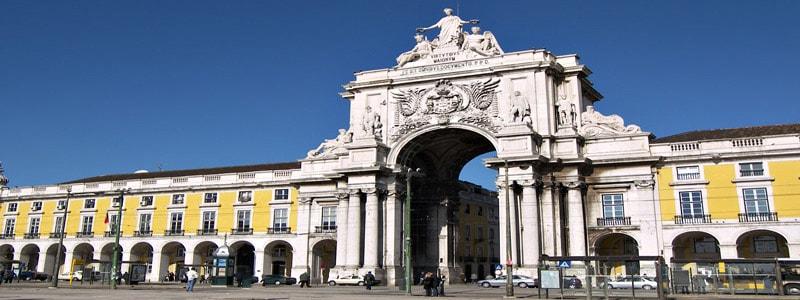 Arco de la Rua Augusta de Lisboa