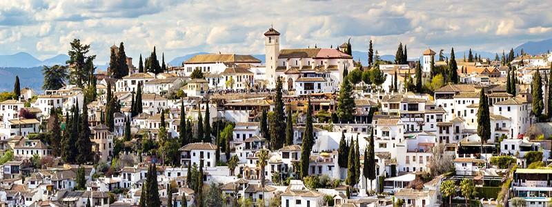 Barrio del Albayzín de Granada