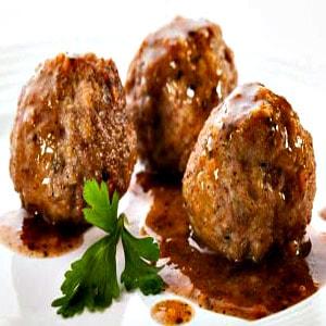 Boulette (Albóndiga Frita de Carne)