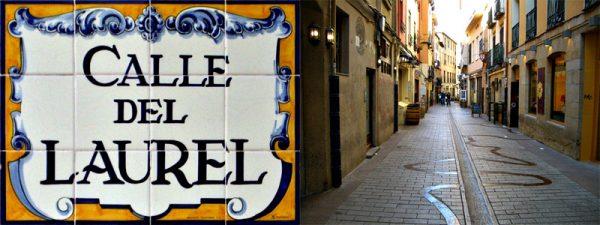 Calle del Laurel (La Senda de los Elefantes) de Logroño