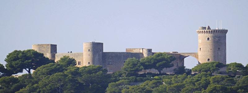 Castillo de Bellver de Palma de Mallorca superior