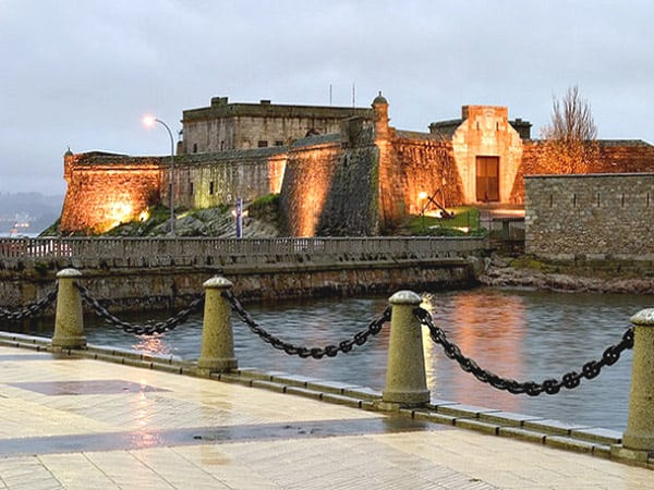 Castillo de San Antón de Coruña - Visitar A Coruña en un día de turismo
