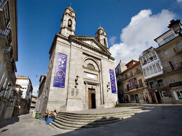 Concatedral de Santa María de Vigo - Lugares de interés que ver en Vigo - Ilutravel.com