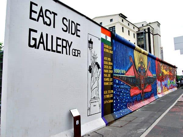 East Side Gallery de Berlin - Sitios de interés de Berlín - Ilutravel.com
