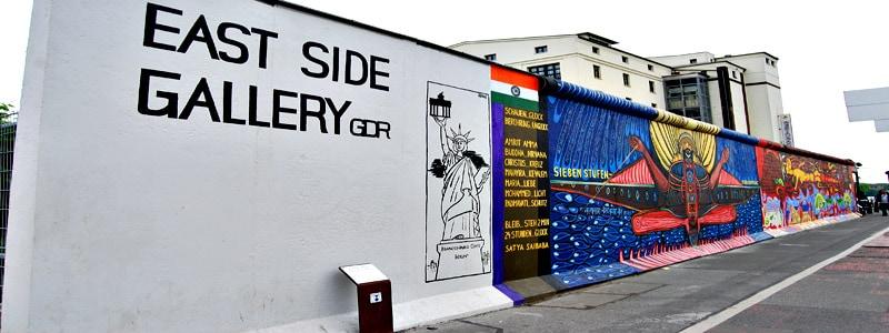 East Side Gallery de Berlin