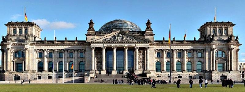 Edificio del Reichstag (Parlamento) de Berlin