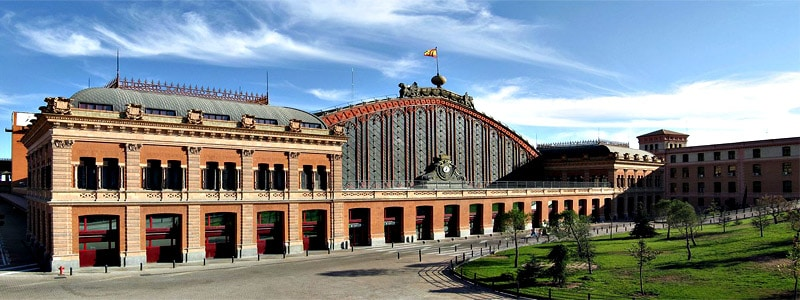 Estación de Atocha de Madrid