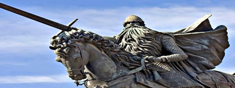 Estatua del Cid Campeador de Burgos