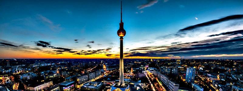 Fernsehturm (Torre de Televisión) de Berlin