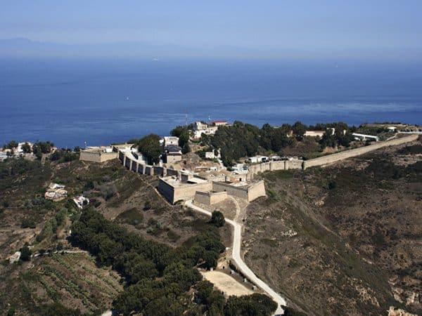 Fortaleza de Monte Hacho de Ceuta lugar que visitar en un día