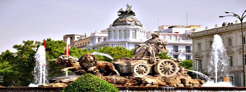 Fuente de Cibeles de Madrid