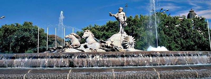 Fuente de Neptuno de Madrid