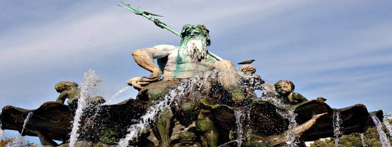 Fuente de Neptuno de Berlin