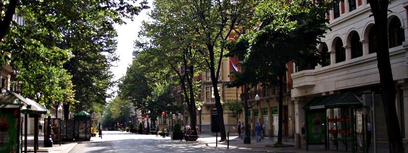Gran Vía Don Diego López de Haro de Bilbao