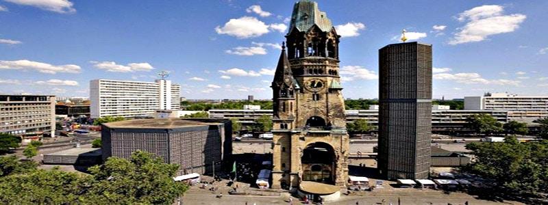 Iglesia Memorial Kaiser Wilhelm de Berlin