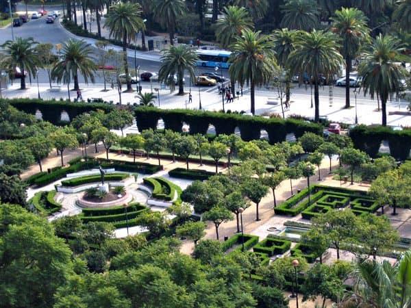 Jardines de Pedro Luis Alonso de Málaga - Visitar en 3 días Málaga - Ilutravel.com