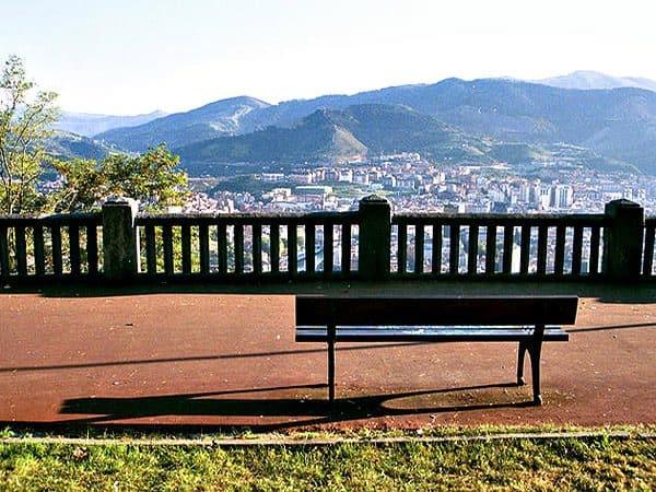 Mirador de Artxanda de Bilbao para ver